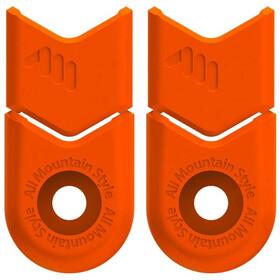 All Mountain Style Defender Crank Cover, orange
